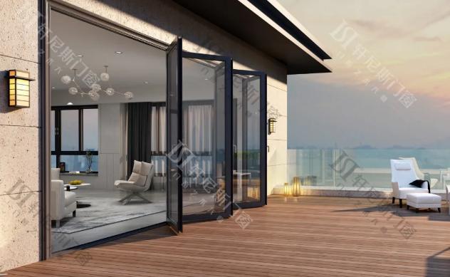 家裝玻璃折疊門怎么樣?好品質的玻璃折疊門如何選購?
